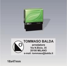 Timbro Autoinchiostrante Colop printer 30 g7 green line